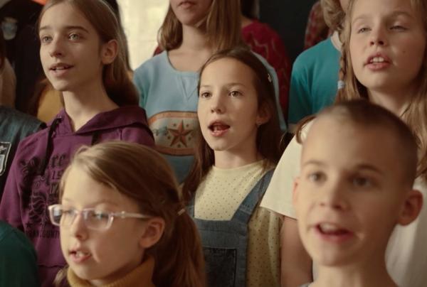 scena del cortometraggio sing